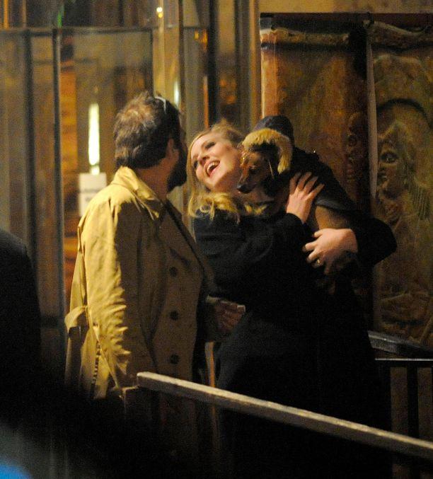 Adele ja Simon Konecki olivat yhdessä seitsemän vuotta.