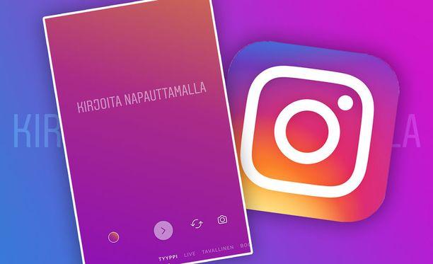 Instagram antaa nyt tehdä tekstijulkaisuja.