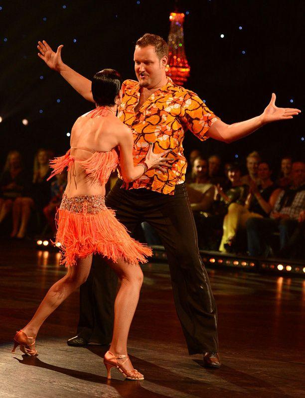Sami Hedberg toi tansseihin huumoria.