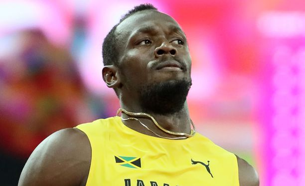 Usain Bolt ei ollut alkuunkaan tyytyväinen omaan juoksuunsa.
