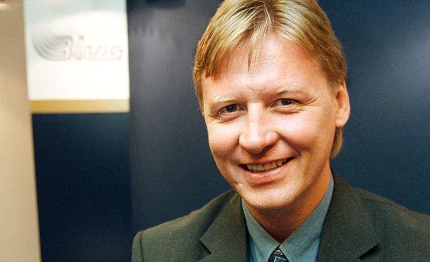 Ilkka Sinisalo toimi 1990-luvun lopulla Espoon Bluesin toimitusjohtajana.