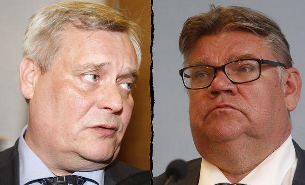- Timo Soini, en pelkää käydä tätä keskustelua. Toivon, että se käydään rauhallisesti ja asiallisesti, SDP:n puheenjohtaja Antti Rinne haastoi perussuomalaisten puheenjohtajalle.