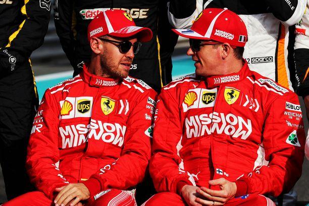 Korvaako Kimi Räikkönen Sebastian Vettelin?