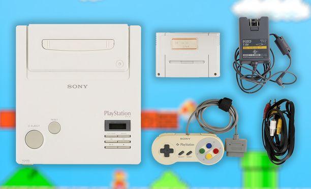 Konsolista erikoisen tekee se, että se yhdistää Nintendon ja Playstationin.