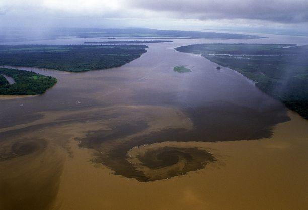 Onnettomuus tapahtui Xingu-joella Pohjois-Brasiliassa.