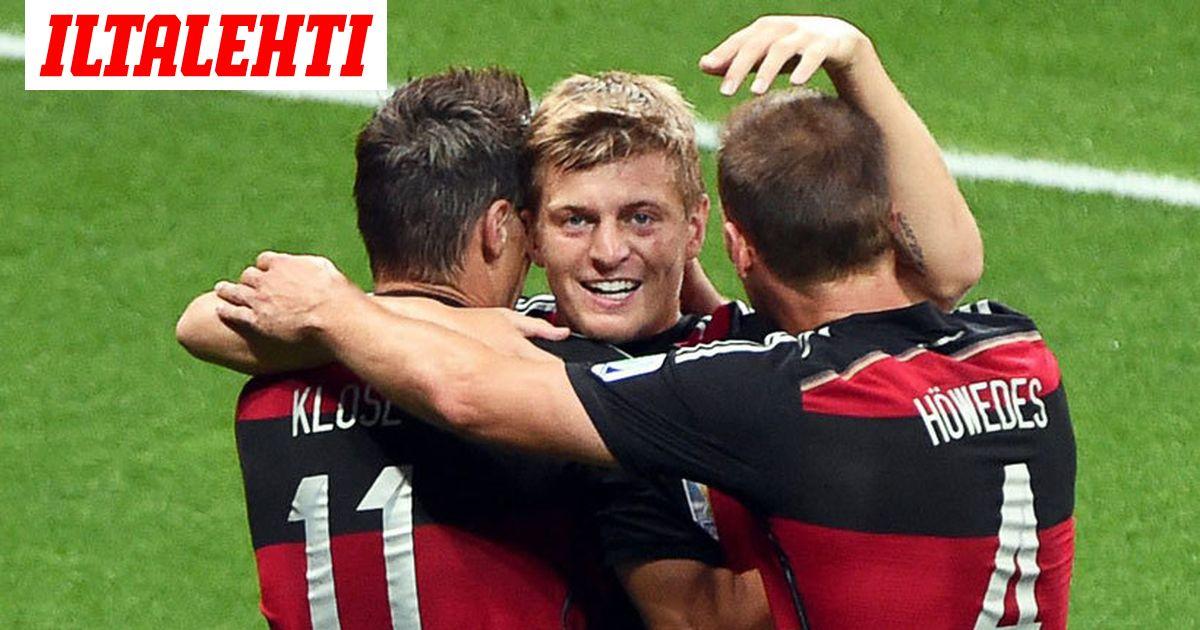 Saksa Brasilia 7-1