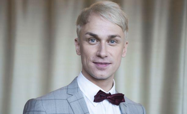 Christoffer Strandberg on mukana Masked Singer Suomi -ohjelman tuomaristossa.