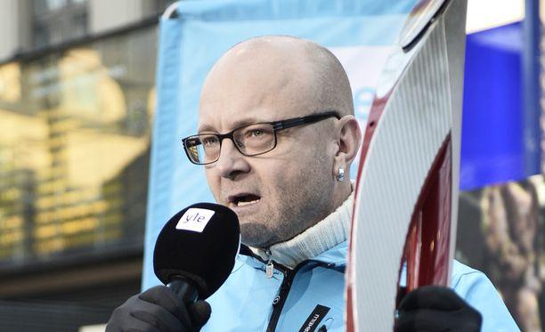 Tapio Suominen joutui sähköongelmien keskelle Lontoossa. Arkistokuva.