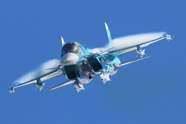 Suhoi Su-34 on Venäjän ilmavoimien vuonna 2006 käyttöön ottama hävittäjäpommittaja ja rynnäkkökone.