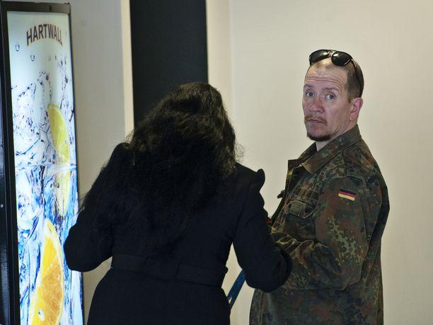 Nikita Bergenström on joutunut virkavallan kanssa tekemisiin vankeustuomionsa jälkeenkin. Kuva käräjäoikeudesta vuonna 2012.