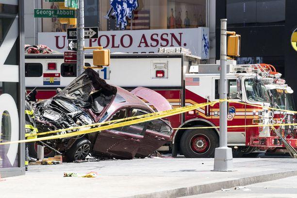 Onnettomuudessa loukkaantui 22 ihmistä ja se sai aikaan terrori-iskun pelon New Yorkissa.