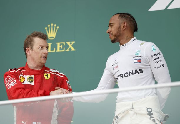 Kimi Räikkönen ja Lewis Hamilton ovat kaksi kuudesta kuljettajasta, joilla on kaikissa osakilpailuissa edellytykset ajaa voitosta.