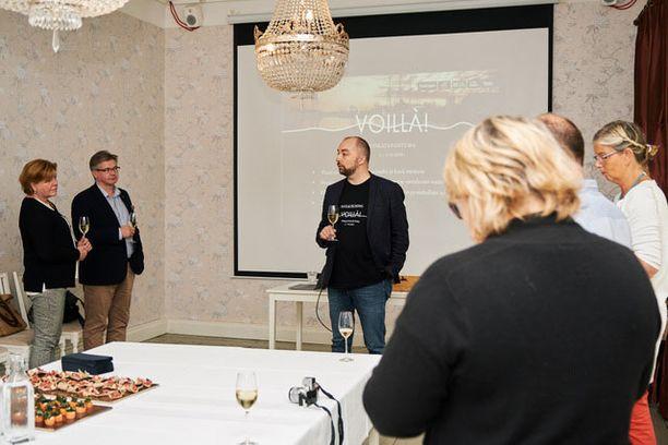 Ravintoloitsija Janne Juvonen kertoo uudesta ruokatapahtumasta