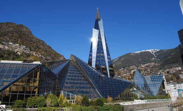 Andorran kylpyläkompleksi on suurin Euroopassa.