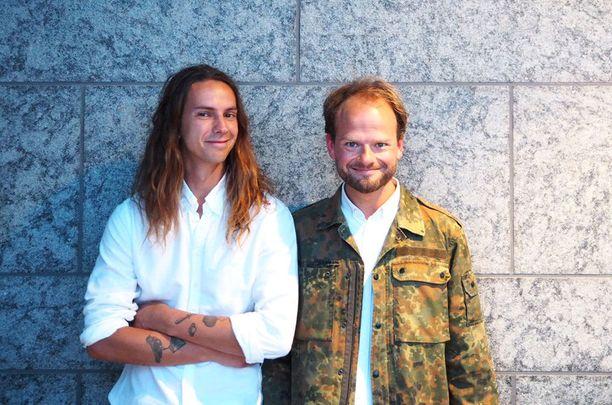 Richard McCormick ja Ville Relander ovat jo tehneet yhteistyötä The Cock ja Holiday -ravintoloiden parissa.