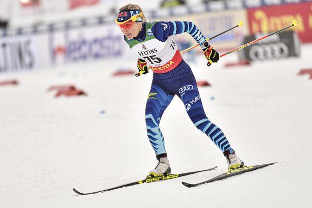 Riitta-Liisa Roponen saa näyttöpaikan ennen MM-kisoja.