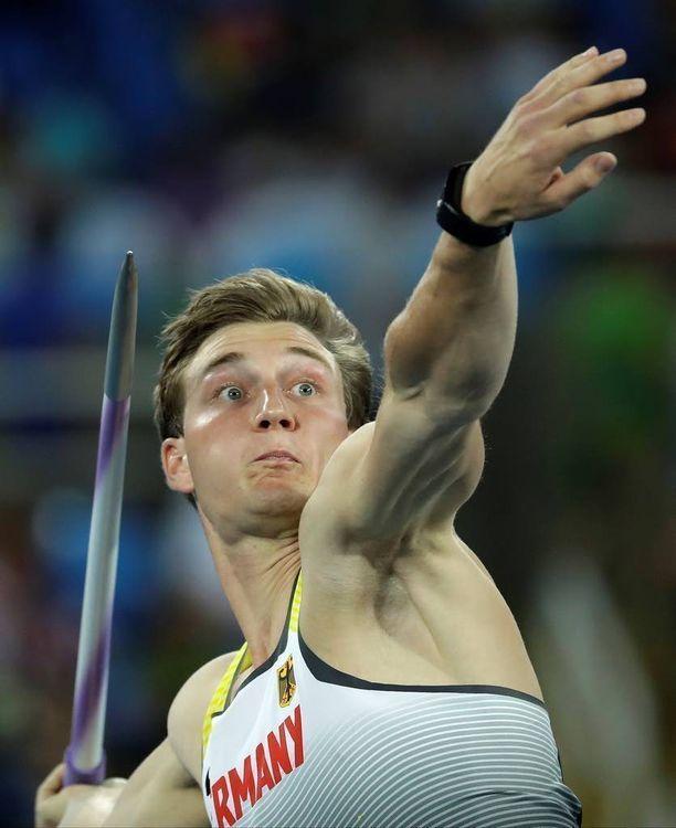 Thomas Röhler on ainoana urheilijana heittänyt tällä kaudella yli 90 metriä.