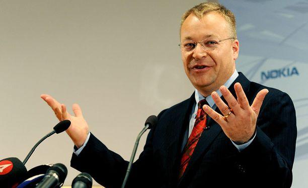 Ericssonin puheenjohtaja oli ykkösesiintyjä, Nokian Stephen Elop ei.