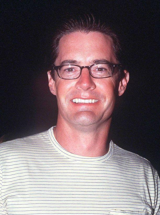 Sinkkuelämää-sarjassa Kyle McLachlan esitti komeaa Treytä, joka seurusteli Charlotten kanssa.