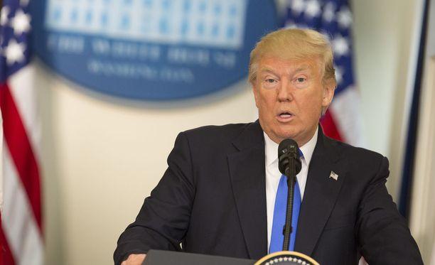 Presidentti Donald Trumpin mukaan Pohjois-Korean ei pidä lähteä uhkailemaan Yhdysvaltoja.
