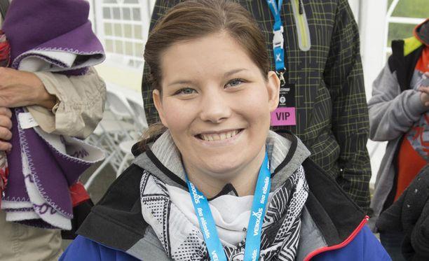 Heidi Foxell kertoo päässeensä jo harrastamaan monia eri urheilulajeja.