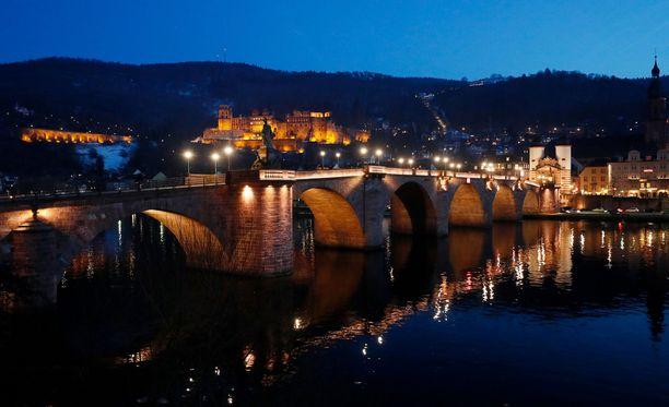 Heidelberg on idyllinen yliopistokaupunki Saksassa.
