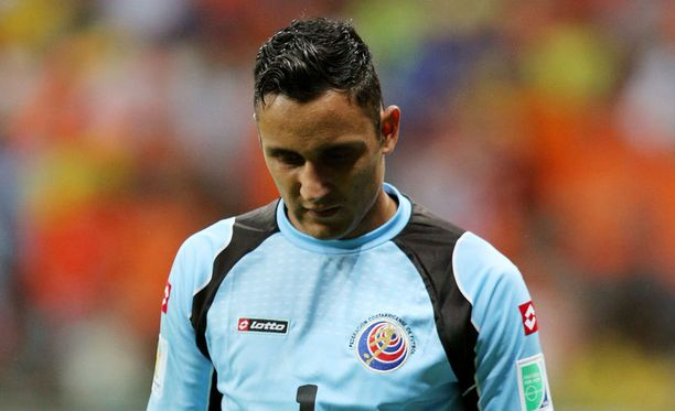 Keylor Navas oli Costa Rican sankari.