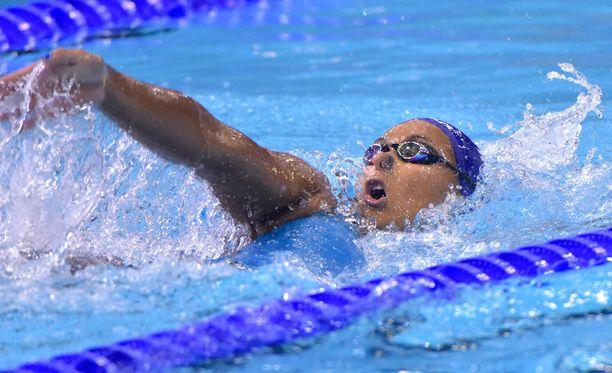 Mimosa Jallow ui naisten 50 metrin Suomen ennätykseksi 28,15