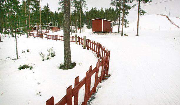 VIHJE HAUDASTA Maanantaina aamupäivällä Johan Söderströmiä etsittiin Kempeleen Köykkyrin hiihtokeskuksesta.