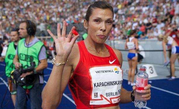 Anastasija Kapatshinskaja sai neljän vuoden pannan, mutta on tosin jo lopettanut uransa.