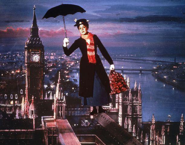Jos emme saa Maija Poppasen laukkua, voisimmeko edes saada sateenvarjon, jolla liihottaa iltapäiväruuhkien ylitse?
