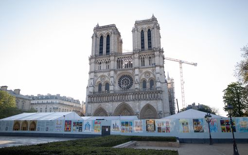 Notre-Damen dramaattisesta palosta kaksi vuotta – mitä katedraalille kuuluu nyt?