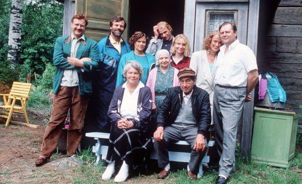 Kaikki tuntevat Metsolat. Monet sarjan hahmoista ovat jääneet elämään katsojien mieleen.