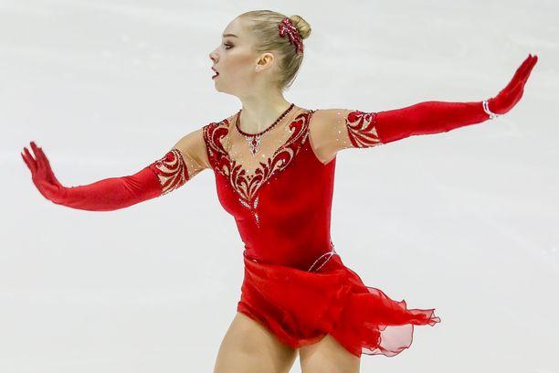 Viveca Lindfors keräsi ylivoimaiset pisteet Kouvolan SM-kisoissa.