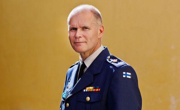Lindbergistä tuli Puolustusvoimien komentaja vuonna 2014.