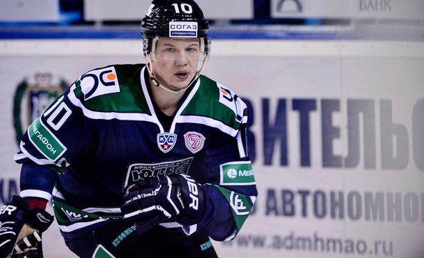 Toni Rajala, 24, haluaa jatkaa Ruotsissa.