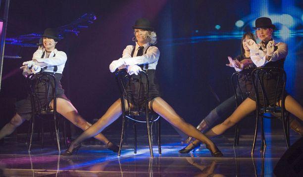 Lisää euroviisukarsinnoista vuodelta 2007. Laura räväytti upealla tanssiesityksellä.