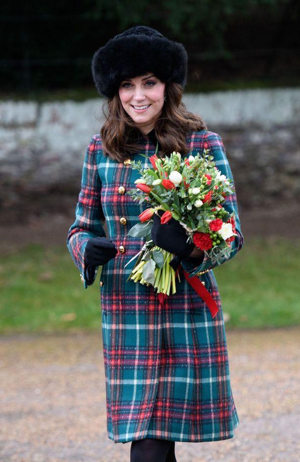 Herttuatar Catherine on kolmatta kertaa putkeen laiskin brittikuninkaallisista.