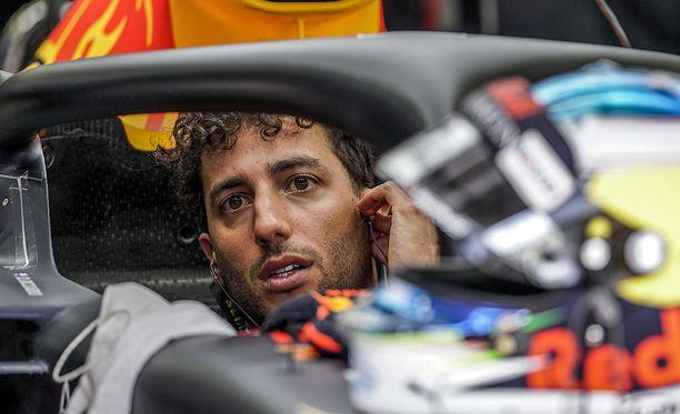 Daniel Ricciardo starttaa nelosruudusta Bahrainin GP:hen.