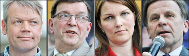 Joku heistä on keskustan uusi puheenjohtaja ja Suomen uusi pääministeri.