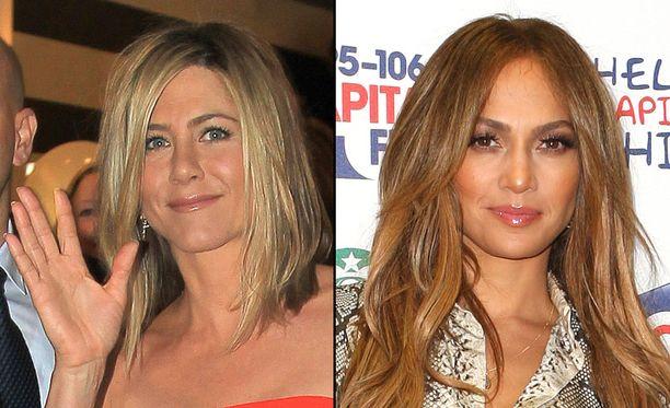 Jenniferit Aniston (vas) ja Lopez saattavat saada omat tähtensä kuuluisalle kadulle.