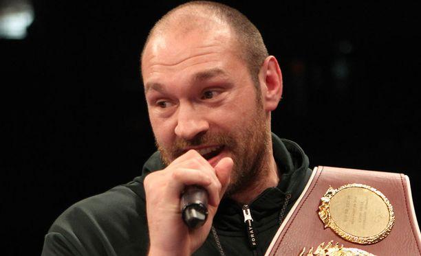 Tyson Furyn epäillään syyllistyneen dopingrikkeeseen.