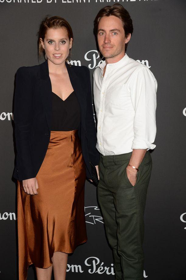 Prinsessa Beatrice, 31, ja Edoardo Mapelli Mozzi, 34, ovat olleet yhdessä vähän yli vuoden.