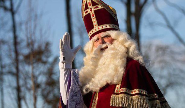 Belgiassa joulun symboli on Pyhä Nikolaus eli Sinterklaas. Arkistokuva.