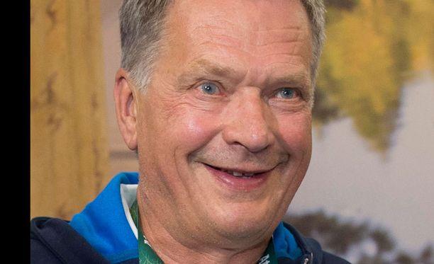 Sauli Niinistö on urheilumiehiä.