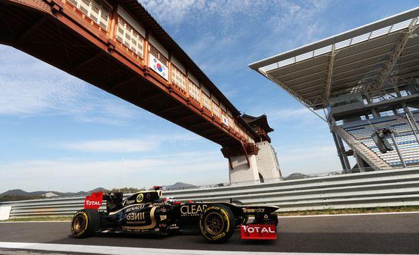 Kimi Räikkösen autossa testattiin uutta tekniikkaa.