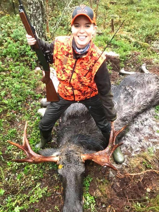Susanna Koskea onnisti toisena metsästyssyksynä.