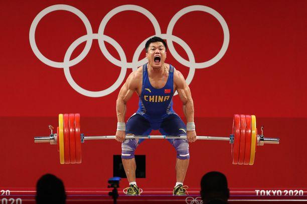 Luy Xiaojun toi Kiinalle uuden kultamitalin.