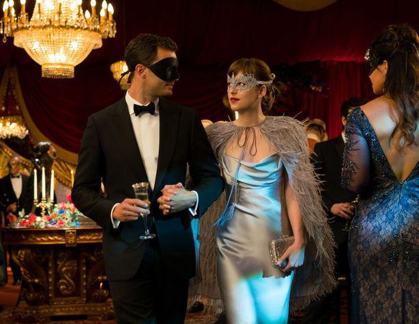 Jamie Dornan ja Dakota Johnson ovat tehneet yhteistyötä jo kolmessa elokuvassa.