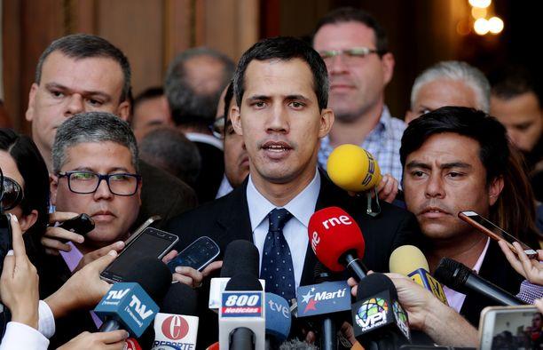 Juan Guaidó on Venezuelan parlamentin puhemies.